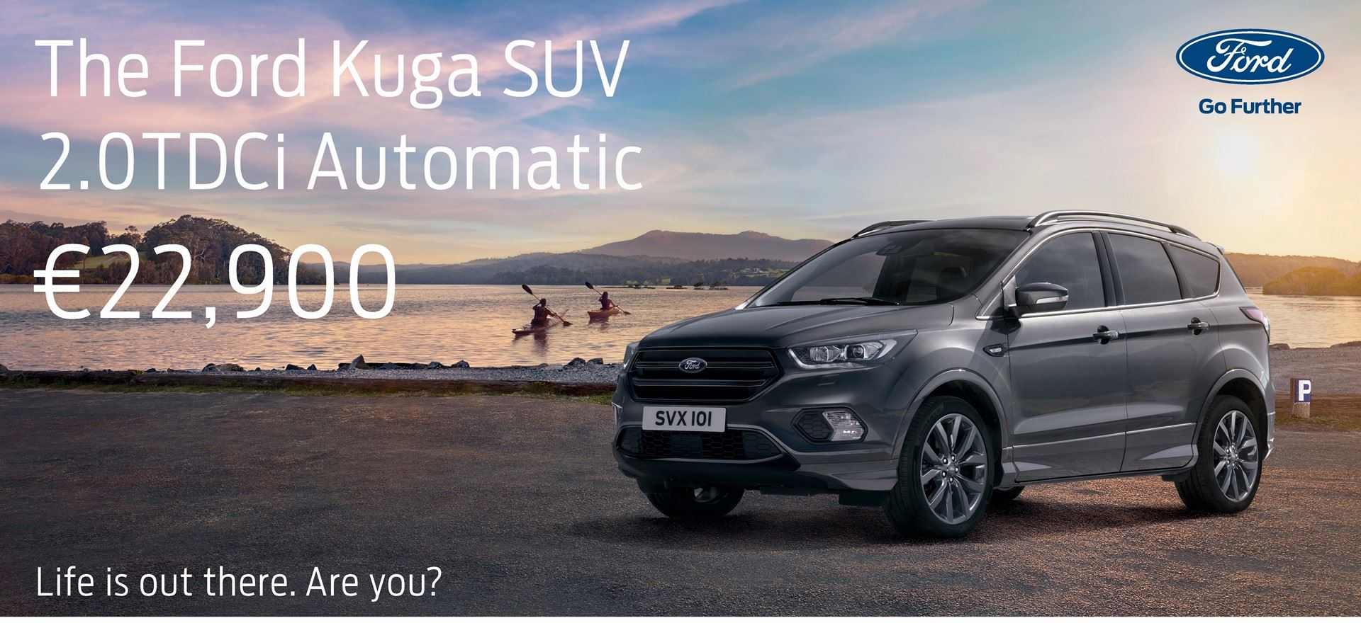 Ford Kuga 2.0TDCi Automatic Special Offer