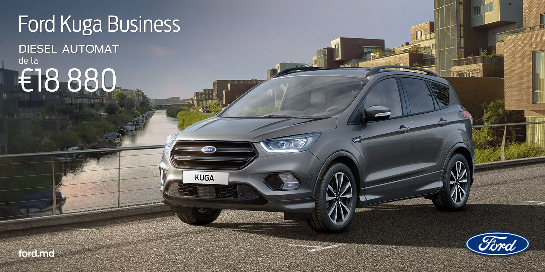 Ford Kuga Business DIESEL AUTOMAT de la €18 880