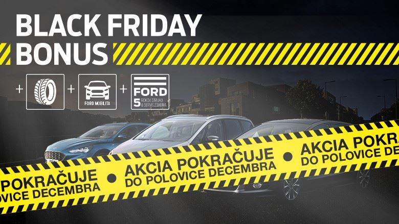 Black Friday Bonus pokračuje
